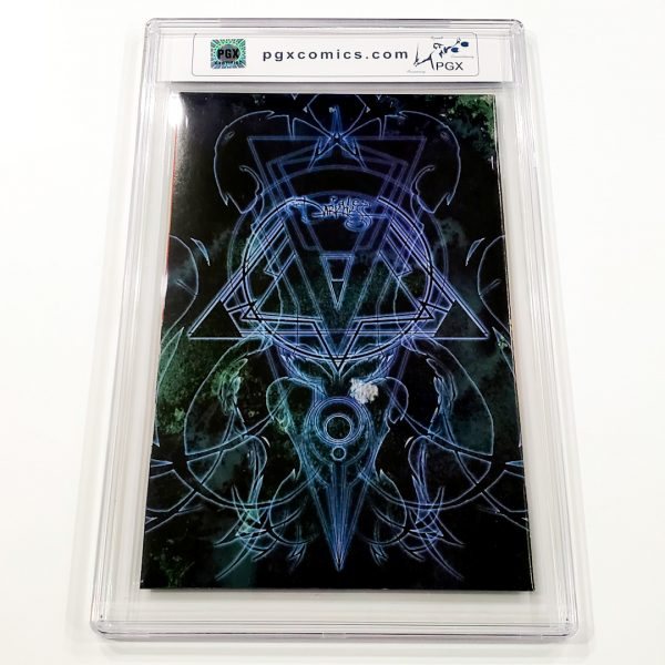 Tales of the Darkness #1/2 PGX 9.8 NM/M Platinum Edition Back
