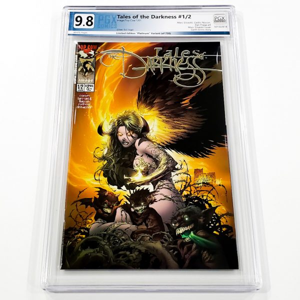 Tales of the Darkness #1/2 PGX 9.8 NM/M Platinum Edition Front