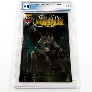 Tales of the Witchblade #1/2 PGX 9.8 NM/M Wizard Chromium Variant Front