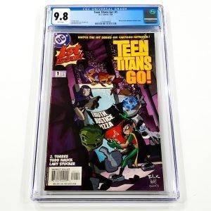 Teen Titans Go! #1 CGC 9.8 NM/M Front