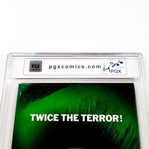 Tomb Raider: The Series #25 PGX 9.8 NM/M Back Label