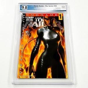 Tomb Raider: The Series #25 PGX 9.8 NM/M Front