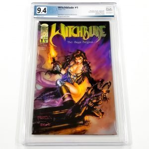 Witchblade #1 PGC 9.4 NM Front