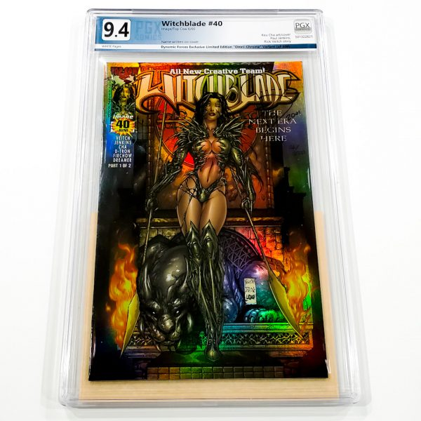 Witchblade #40 PGX 9.4 NM Dynamic Forces Edition Front