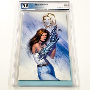 Witchblade #46 PGX 9.8 NM/M Top Cow Select Virgin Variant Front