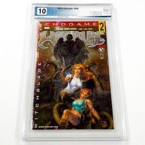 Witchblade #60 PGX 10 Gem Mint Chromium Variant Front