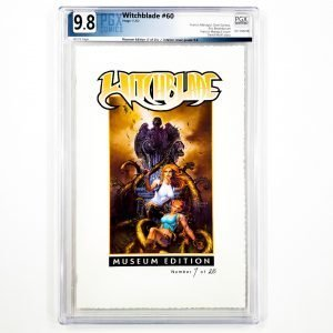 Witchblade #60 PGX 9.8 NM/M Museum Edition Front