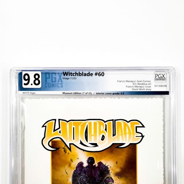 Witchblade #60 PGX 9.8 NM/M Museum Edition Front Label