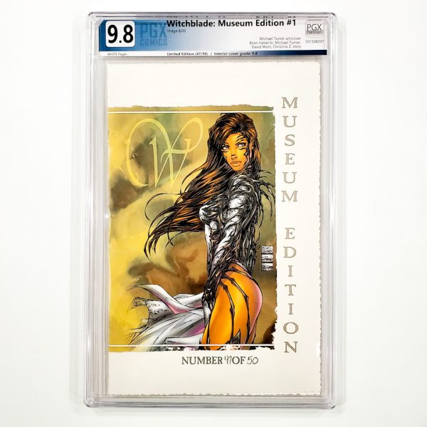 Witchblade: Museum Edition #1 PGX 9.8 NM/M Front