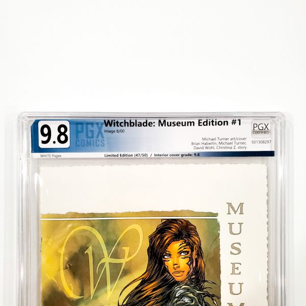 Witchblade: Museum Edition #1 PGX 9.8 NM/M Front Label