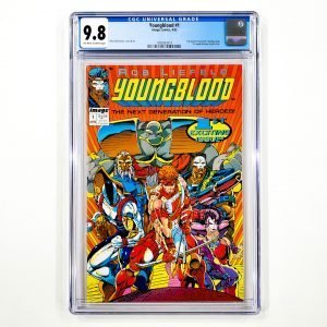 Youngblood #1 CGC 9.8 NM/M Front