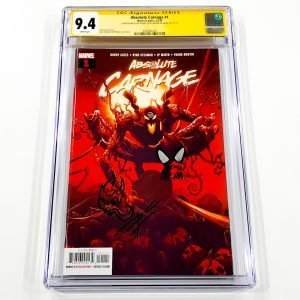 Absolute Carnage #1 CGC SS 9.4 NM Front