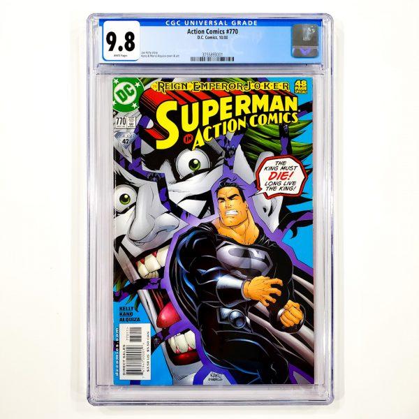 Action Comics #770 CGC 9.8 NM/M Front