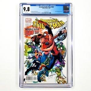 Amazing Spider-Man #500 CGC 9.8 NM/M Front
