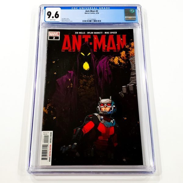 Ant-Man (2020) #2 CGC 9.6 NM+ Front