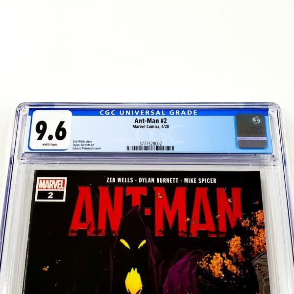 Ant-Man (2020) #2 CGC 9.6 NM+ Front Label