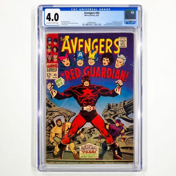 Avengers #43 CGC 4.0 VG Front