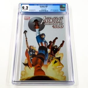 Avengers #500 CGC 9.2 NM- Director's Cut Front