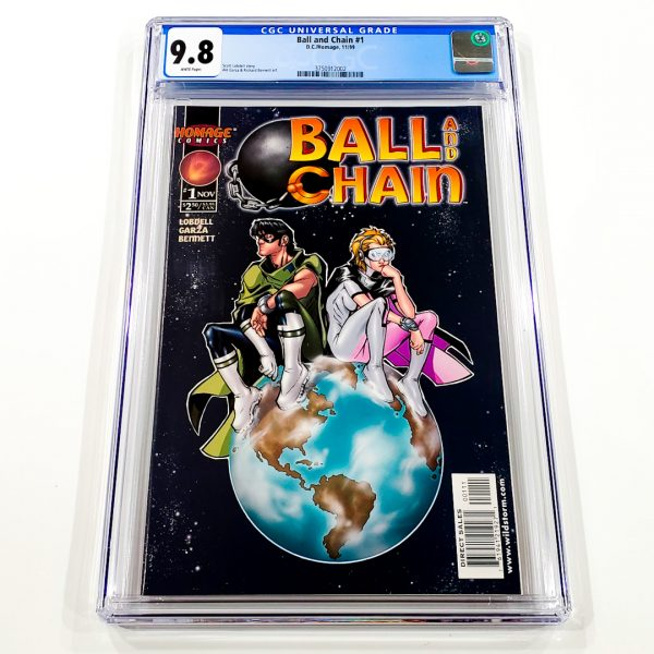 Ball and Chain #1 CGC 9.8 NM/M Front