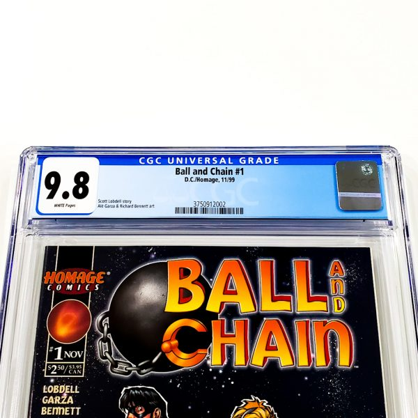 Ball and Chain #1 CGC 9.8 NM/M Front Label