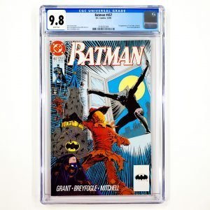 Batman #457 CGC 9.8 NM/M Front