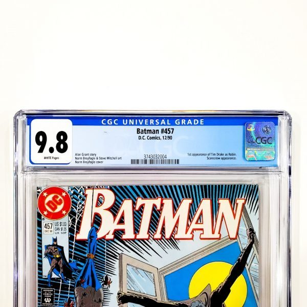 Batman #457 CGC 9.8 NM/M Front Label