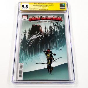 Chris Claremont Anniversary Special #1 CGC SS 9.8 NM/M Larraz Variant Front