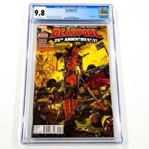 Deadpool (2015) #7 CGC 9.8 NM/M Front