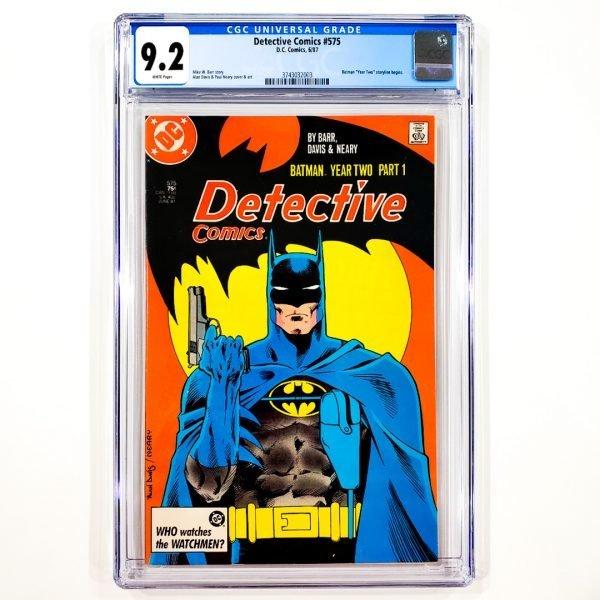 Detective Comics #575 CGC 9.2 NM- Front