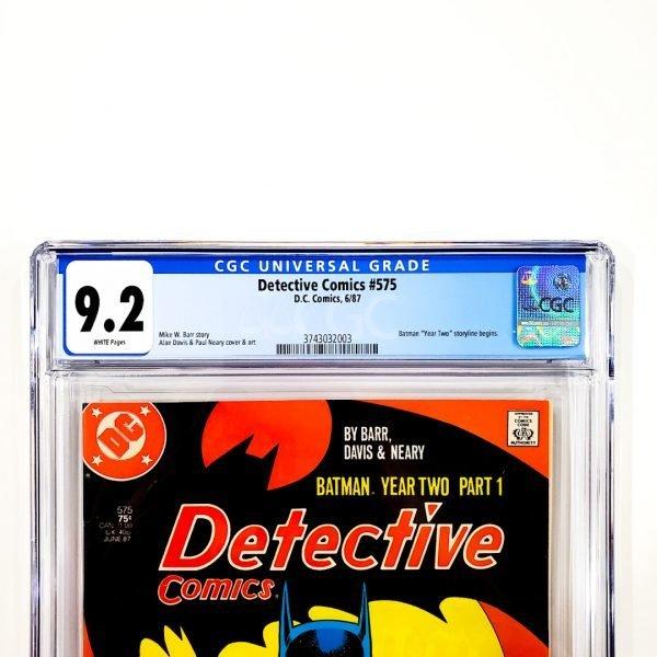 Detective Comics #575 CGC 9.2 NM- Front Label