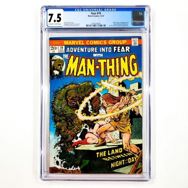 Adventure Into Fear #19 CGC 7.5 VF- Front