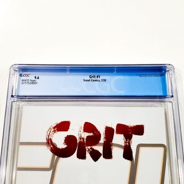 Grit #1 CGC 9.6 NM+ Back Label