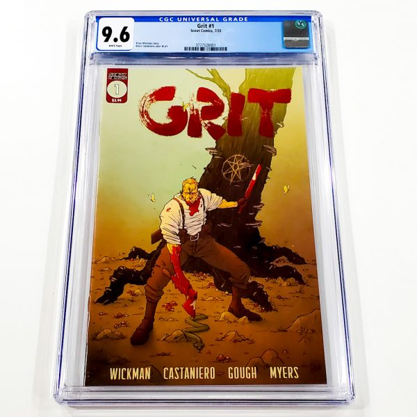Grit #1 CGC 9.6 NM+ Front