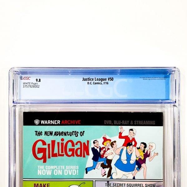 Justice League (2011) #50 CGC 9.8 NM/M Back Label