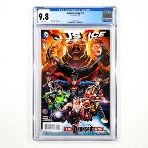 Justice League (2011) #50 CGC 9.8 NM/M Front