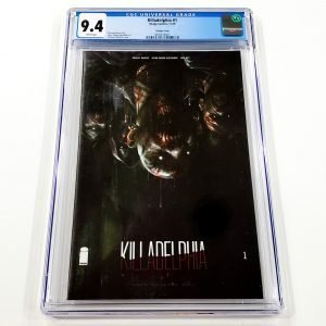 Killadelphia #1 CGC 9.4 NM Variant Front