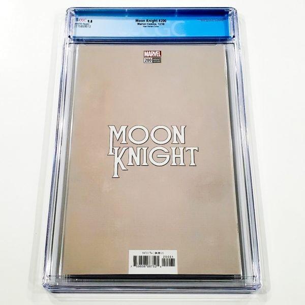 Moon Knight #200 CGC 9.8 NM/M Skan Variant Back