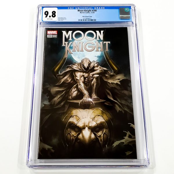 Moon Knight #200 CGC 9.8 NM/M Skan Variant Front