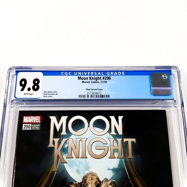 Moon Knight #200 CGC 9.8 NM/M Skan Variant Front Label