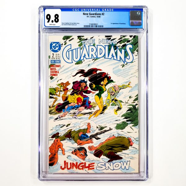 New Guardians #2 CGC 9.8 NM/M Front