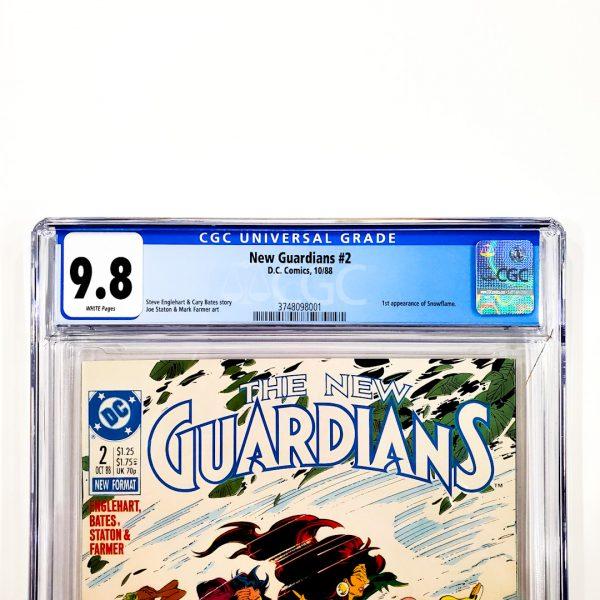 New Guardians #2 CGC 9.8 NM/M Front Label