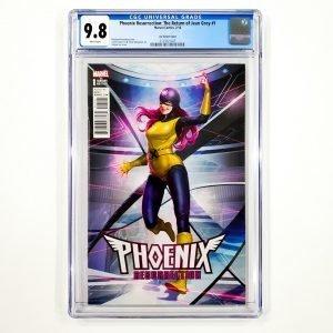 Phoenix Resurrection: The Return of Jean Gray #1 CGC 9.8 NM/M Lee Variant Front