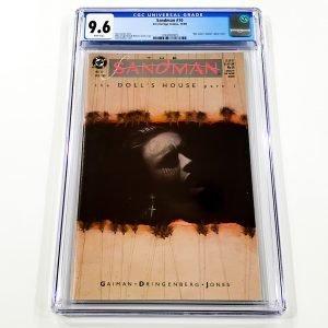 Sandman #10 CGC 9.6 NM+ Front