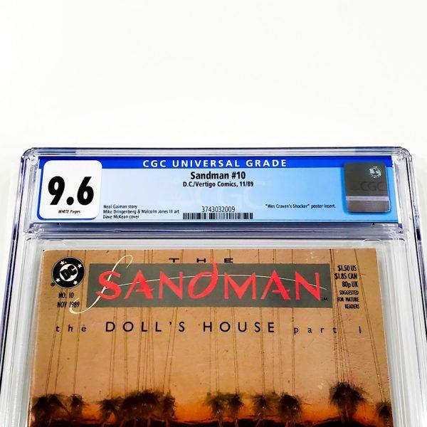 Sandman #10 CGC 9.6 NM+ Front Label