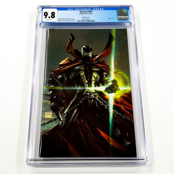 Spawn #300 CGC 9.8 NM/M Variant Cover L Front