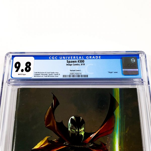 Spawn #300 CGC 9.8 NM/M Variant Cover L Front Label