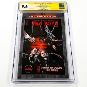 The Boys #1 CGC SS 9.6 NM+ Free Comic Book Day Edition Front