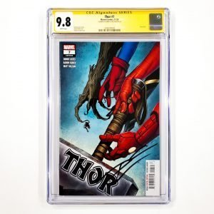 Thor (2020) #7 CGC SS 9.8 NM/M Front
