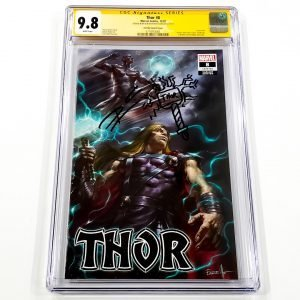 Thor (2020) #8 CGC SS 9.8 NM/M Parrillo Variant Front