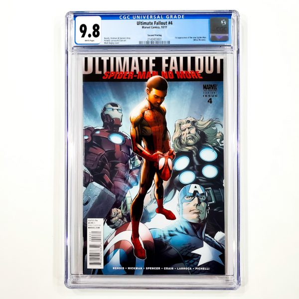 Ultimate Fallout #4 CGC 9.8 NM/M Second Printing Front